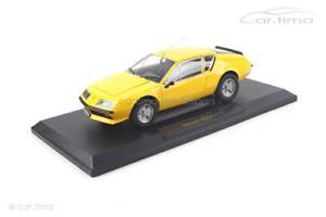 【送料無料】模型車 モデルカー スポーツカー ルノーアルパインrenault alpine a310 gelb norev 118 185143