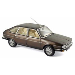 【送料無料】模型車 モデルカー スポーツカー ルノーブロンズブラウンメタリックrenault 30 tx 1981 bronze brown metallic 118 185271 norev