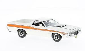 【送料無料】模型車 モデルカー スポーツカー フォードグアテマラネオスケールトップford ranchero gt white 1972 neo scale 143 44856 *** top ***