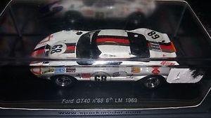 【送料無料】模型車 モデルカー スポーツカー スパークフォード#ルマンspark 143 ford gt40 68 le mans 1969 s4066