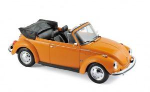 【送料無料】模型車 モデルカー スポーツカー フォルクスワーゲンカブリオレオレンジvw 1303 cabrio 1972 orange 118 norev