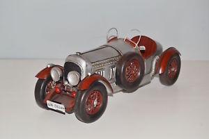 【送料無料】模型車 モデルカー スポーツカー シートメタルモデルカーベントレーblechmodell auto bentley 1927