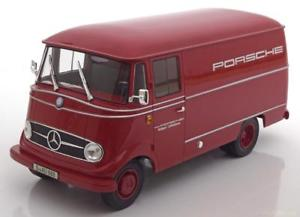 【送料無料】模型車 モデルカー スポーツカー メルセデスポルシェレーシングサービス118 norev mercedes l319 porsche renndienst 1955 red