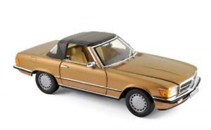 【送料無料】模型車 モデルカー スポーツカー メルセデスベンツビザンチウムゴールドメタリックnorev 183514 mercedesbenz 300 sl 1986 byzanzgold metallic 118