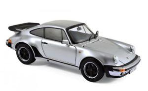【送料無料】模型車 モデルカー スポーツカー ポルシェターボシルバーnorev 187574 porsche 911turbo 3,3l silber 118