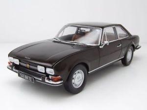 【送料無料】模型車 モデルカー スポーツカー プジョークーペブラウンメタリックモデルカーpeugeot 504 coupe 1973 braun metallic, modellauto 118 norev