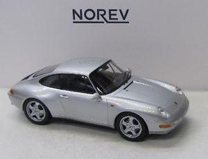 【送料無料】模型車 モデルカー スポーツカー ポルシェカレラシルバーporsche 911 993 carrera 1993 silber met norev 118