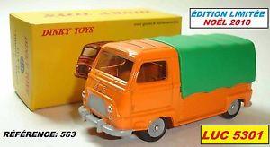 【送料無料】模型車 モデルカー スポーツカー ルノーアップオレンジ#モデルアトラスrenault estafette pikup orange 563 modele nol 2010 dinky toys atlas
