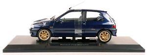 【送料無料】模型車 モデルカー スポーツカー ルノークリオウィリアムズフェーズnorev 185230 renault clio williams ph1 blau 118 neuovp