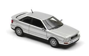 【送料無料】模型車 モデルカー スポーツカー アウディクーペシルバーネオaudi coup silver 1994 neo 143 43367