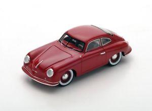 【送料無料】模型車 モデルカー スポーツカー ポルシェダークレッドスパークporsche 356 dark red 1951 spark 143 s4919