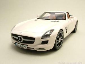 【送料無料】模型車 モデルカー スポーツカー メルセデスロードスターホワイトメタリックモデルカーmercedes sls amg roadster r197 2011 wei metallic, modellauto 118 norev