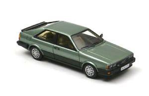【送料無料】模型車 モデルカー スポーツカー アウディクーペグアテマラメタリックグリーンネオスケールaudi coup gt metallic green 1981 neo scale 143 43376