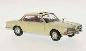 【送料無料】模型車 モデルカー スポーツカー ベージュネオbmw 3200 cs bertone beige 1961 neo 143 44287