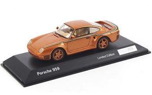【送料無料】模型車 モデルカー スポーツカー ポルシェゴールドスパークワックスporsche 959 gold 30 years anniversary spark 143 wax02020003