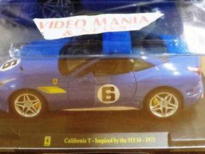 【送料無料】模型車 モデルカー スポーツカー カリフォルニアインスピレーションフェラーリルcalifornia t1971 inspired by 512 le grandi ferrari 70 anniversario 124 v 54