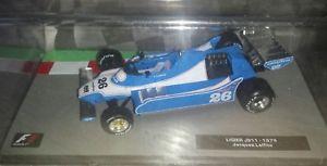 【送料無料】模型車 モデルカー スポーツカー コレクションf1 collection ligier js11 1979 143