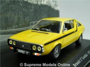 【送料無料】模型車 モデルカー スポーツカー ルノーカーモデルサイズネットワークアトラススポーツrenault 17 gordini car model 143 size 1972 yellow ixo atlas la saga sports t3