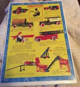 【送料無料】模型車 モデルカー スポーツカー ビンテージバトラーブラザーズシカゴカタログカラープリントvintage structo toys butler bros chicago 1928 whole catalog color print