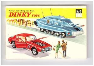 【送料無料】模型車 モデルカー スポーツカー カタログカタログkdt katalogcatalogue dinky toys nr 4,1968, cadin a6, neuwertiglike