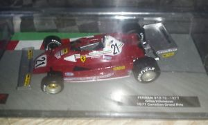 【送料無料】模型車 モデルカー スポーツカー コレクションフェラーリf1 collection ferrari 312 t2 1977 143