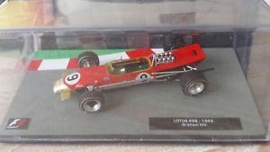 【送料無料】模型車 モデルカー スポーツカー コレクションロータスf1 collection lotus 49b1969 143