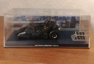 【送料無料】模型車 モデルカー スポーツカー バットマンカーコレクション#バットマンビギンズイーグルモデルモスbatman car collection 3 batman begins movie by eaglemoss die cast model