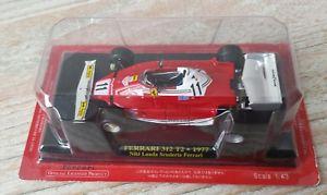 【送料無料】模型車 モデルカー スポーツカー フェラーリコレクションニキラウダホイールferrari f1 collection 312 t2 1977 six wheels niki lauda 143