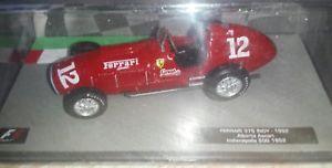 【送料無料】模型車 モデルカー スポーツカー フェラーリコレクションインディf1 collection ferrari 375 indy 1952 143