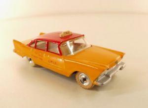 【送料無料】模型車 モデルカー スポーツカー プリマスアメリカタクシーdinky toys gb 265 plymouth usa taxi