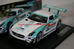【送料無料】模型車 モデルカー スポーツカー カレラデジタルメルセデスベンツグアテマラ#carrera digital 124 23837 mercedesbenz sls amg gt3 petronas, nr 28