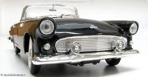 【送料無料】模型車 モデルカー スポーツカー ヤットブラックフォードサンダーバードyat ming ford thunderbird 1955 schwarz 118