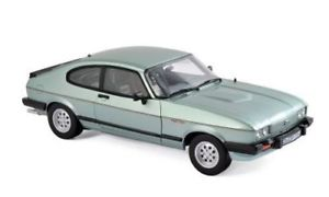 【送料無料】模型車 モデルカー スポーツカー フォードカプリインジェクションnorev 118 ford capri mk iii 2,8 injection 1982 green 182719