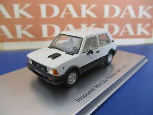 【送料無料】模型車 モデルカー スポーツカー モデルカーミニリノドビアンカ143 modellino auto innocenti mini de tomaso mki 1977 bianca by kess
