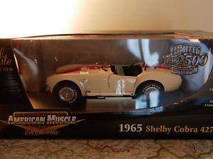 【送料無料】模型車 モデルカー スポーツカー アメリカシェルビーコブラamerican muscle ertl 1965 shelby cobra 427 sc limited edition