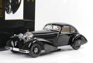 【送料無料】模型車 モデルカー スポーツカー メルセデスベンツクーリエクーリエブラックダイカストmercedesbenz 540k 540 k 1938 autobahnkurier kurier schwarz 118 kk diecast neu