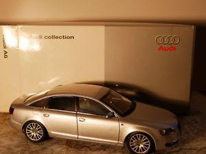 【送料無料】模型車 モデルカー スポーツカー アウディバージョンシルバーnorev a6 mj 04 audi dealer version silber 118