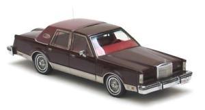 【送料無料】模型車 モデルカー スポーツカー リンカーンセダンダークレッドネオスケールlincoln mk6 sedan dark red 1979 neo scale 143 43541