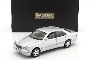 【送料無料】模型車 モデルカー スポーツカー メルセデスベンツシルバーサンスターmercedesbenz e320 baujahr 2001 silber 118 sunstar