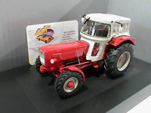 【送料無料】模型車 モデルカー スポーツカー トターschuco 07784 gldner g60 a traktor mit dach baujahr 1965 in rot 132 neu