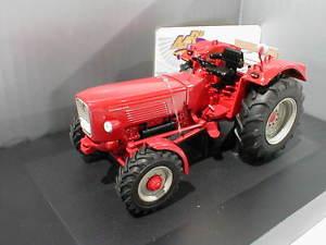 【送料無料】模型車 モデルカー スポーツカー トターschuco 07783 gldner g75 a traktor ohne dach baujahr 1965 in rot 132 neu