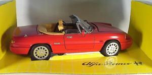 【送料無料】模型車 モデルカー スポーツカー アルファロメオスパイダー#revell jouef 118 alfa romeo spider cabrio rot ovp 2854