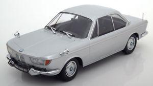 【送料無料】模型車 モデルカー スポーツカー スケールクーペシルバー118 kkscale bmw 2000 cs coupe 1965 silver
