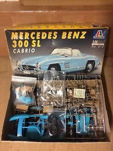 【送料無料】模型車 モデルカー スポーツカー クーペカブリオレメルセデスベンツ116 italeri 614 coupe cabriolet de luxe mercedesbenz 300sl