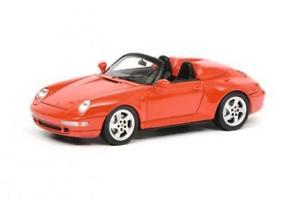 【送料無料】模型車 モデルカー スポーツカー ポルシェschuco 143 porsche 911 993 speedster, rot