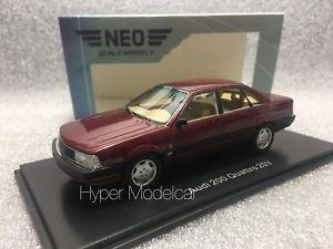 【送料無料】模型車 モデルカー スポーツカー ネオスケールモデルアウディクアトロneo scale models 143 audi 200 quattro 20v 1990 red met art 43039