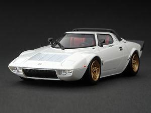 【送料無料】模型車 モデルカー スポーツカー ランチアビアンコlancia stratos hf stradale bianco hpi 143 8068