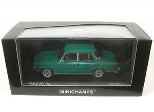 【送料無料】模型車 モデルカー スポーツカー ダークグリーンbmw 2000a dark green 1962