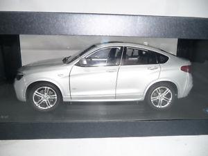 【送料無料】模型車 モデルカー スポーツカー シルバーパラゴンディーラーbmw x4 f26 glacier silver 118 paragon dealer very rare