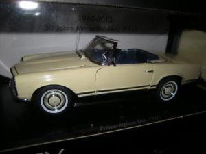 【送料無料】模型車 モデルカー スポーツカー メルセデスベンツベージュプレゼンテーション118 norev mercedesbenz 230 sl w113 prsentation iaa 1963 beige in ovp